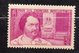 1939--tp  N° 438 -- Balzac 90c +10c--   Sans Charnière---cote  9 €..........à Saisir - France