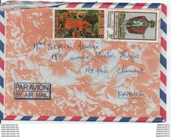 Enveloppe Polynésie Française - Cartas