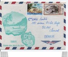 Enveloppe Tahiti Joyau Des Mers Du Sud - Cartas