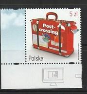POLSKA 2016 POSTCROSSING MNH 1 V. - 1944-.... República