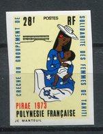 Polinesia Francesa 1973. Yvert 93 Imperforated ** MNH. - Non Dentelés, épreuves & Variétés