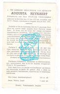 DP Augusta Reynaert ° Kortrijk 1877 † Izegem 1941 X François VanDommele - Images Religieuses