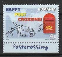 ROMANIA 2017 POSTCROSSING 1V MNH - 1948-.... Repúblicas