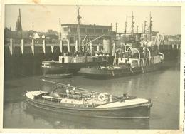 Foto Photo (12 X 17 Cm) Haven Port Oostende ? Nieuwpoort ? Zeebrugge ? Boot Bateau - Oostende