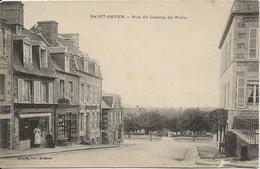 D  14  SAINT SEVER  Rue Du Champ De Foire - Autres Communes