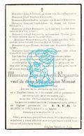DP Chef Piocheur - Louis Reynaerts ° Neerheilissem Hélécine 1865† Laar Landen 1947 X Pinsart / Goffin Josa Dokens Defooz - Images Religieuses