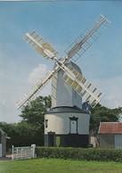 Postcard Saxtead Green Post Mill Suffolk [ Windmill ] My Ref  B23878 - Windmills