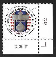 Monaco 2017 - Yv N° 3075 ** - BICENTENAIRE DES CARABINIERS DU PRINCE (Mi N° 3331) - Unused Stamps
