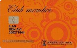 GRECIA KEY CASINO   Casino Loutraki - Carte Di Casinò