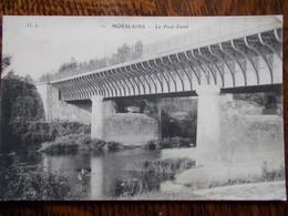 52 - MOESLAINS - Le Pont Canal. (Cliché Rare - Gros Plan) - Francia