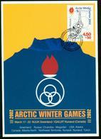 Mk Greenland Maximum Card 2001 MiNr 365 | Arctic Winter Games, Nunavut, Gymnast - Cartes-Maximum (CM)