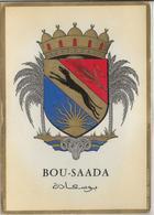 BLASON De  BOU-SAADA         (Departement D'ALGER) - Argelia