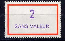 FRANCE - F245** - FICTIF EMISSION 1989 - Phantomausgaben