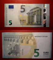 GERMANY GERMANIA 5 EURO 2013 DRAGHI SERIE WA 2062119169 W002D3 UNC FDS - 5 Euro