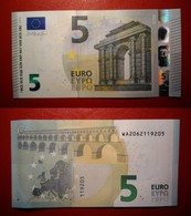 GERMANY GERMANIA 5 EURO 2013 DRAGHI SERIE WA 2062119205 W002D3 UNC FDS - 5 Euro