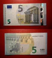 GERMANY GERMANIA 5 EURO 2013 DRAGHI SERIE WA 2062119376 W002D3 UNC FDS - 5 Euro