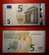GERMANY GERMANIA 5 EURO 2013 DRAGHI SERIE WA 2060316928 W002A3 UNC FDS - 5 Euro