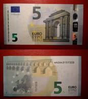 GERMANY GERMANIA 5 EURO 2013 DRAGHI SERIE WA 2643157333 W001F1 UNC FDS - 5 Euro