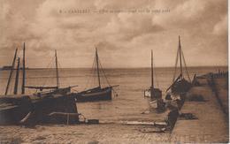CPA Carteret - Effet De Contre-jour Sur Le Petit Port - Carteret