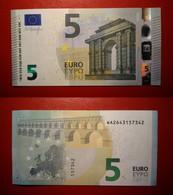 GERMANY GERMANIA 5 EURO 2013 DRAGHI SERIE WA 2643157342 W001F1 UNC FDS - 5 Euro