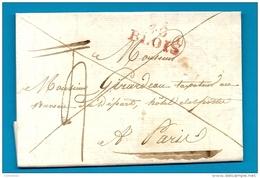 Loir Et Cher - Blois -> Taxateur Au Bureau De Départ, Hotel Des Postes à Paris.MP 40/BLOIS En Rge. LAC Ecrite à HERBAULT - Marcofilia (sobres)