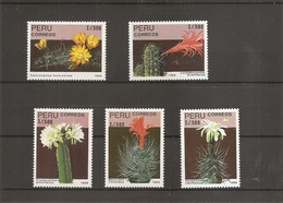 Cactus ( 908/912 XXX -MNH- Du Pérou) - Cactusses