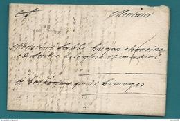 Haute Garonne - Toulouse Pour Un Abbé à Limoges (Haute Vienne). LAC De 1771 - Marcofilia (sobres)