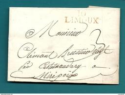 Aude - Limoux Pour Mirepoix (Ariège). LAC De 1812 - Marcofilia (sobres)