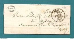 Tarn - Albi Pour St Grégoire. LAC Locale De 1849 - Marcofilia (sobres)