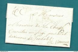 -= Lettre De DINAN Pour VANNES (Bretagne) - 1774 =- - 1701-1800: Precursori XVIII