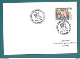 Aisne - Soissons - 1500e Anniversaire Du Bapteme De CLOVIS. 1996 - Matasellos Conmemorativos