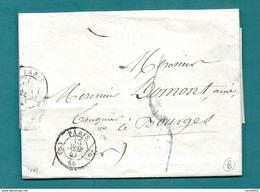 Dispersion D'une Collection De Paris. Pour Un Banquier à Bourges (Cher). Entete Superbe Du Musée Catholique - Marcofilia (sobres)