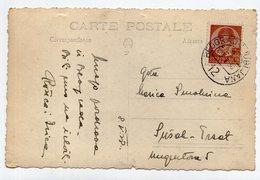 1938 YUGOSLAVIA, SERBIA, TPO 12 BELGRADE-LJUBLJANA, USED, ILLUSTRATED POSTCARD, - Yugoslavia