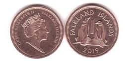 Falkland Islands - 1 Penny 2019 UNC Lemberg-Zp - Malvinas