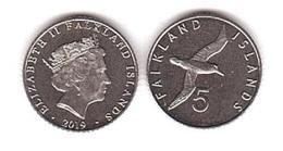 Falkland Islands - 5 Pence 2019 UNC Lemberg-Zp - Malvinas