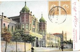 Constantinople NA1: Caserne D'Artillerie à Péra 1909 - Türkei