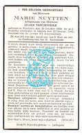 DP Marie Nuytten ° Beselare Zonnebeke 1884 † Izegem 1942 X Julien Vancayseele - Images Religieuses