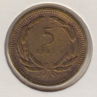 @Y@  Turkije  5 Kurus  1955    (4768) - Turquie
