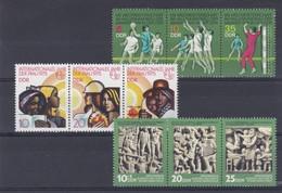 DDR Kleine Verzameling 3 X Triptyque **, Zeer Mooi Lot Krt 4183 - Francobolli