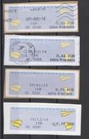 2014 à  2018 Lettre Prioritaire   Différentes Valeurs - 2000 «Avions En Papier»
