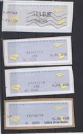 2014 -  2015  Lettre Prioritaire   Différentes Valeurs - 2000 «Avions En Papier»