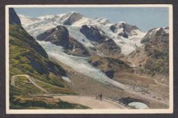 110657/ SUISSE, Die Sustenstrasse Mit Steingletscher, Gwächtenhorn Und Tierberge, Phot. E. Gyger, Adelboden, N° A 15399 - Switzerland