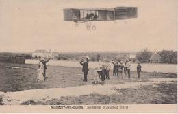 MONDORF LES BAINS - SEMAINE D'AVIATION 1910 - Mondorf-les-Bains