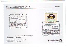 GERMANY Official Card 2806 - Postkoetsen