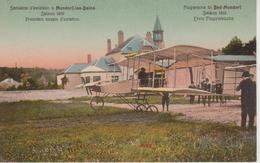 MONDORF LES BAINS - SEMAINE D'AVIATION 1910 - PREMIERS ESSAIS - Mondorf-les-Bains