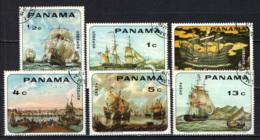PANAMA - 1968 - VELIERI ANTICHI - USATI - Panama