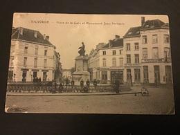 VILVORDE - Place De La Gare Et Monument Jean Portaels - Animation - Vilvoorde