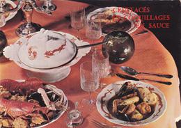 CPSM CRUSTACES ET COQUILLAGES EN SAUCE En 1969 - Plat Méridional Gastronomie Méridionale Recette Cuisine - Recipes (cooking)