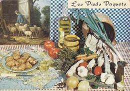 CPSM Recette Cuisine Les Pieds Paquets En 1969 - Mouton Tripe - Recipes (cooking)