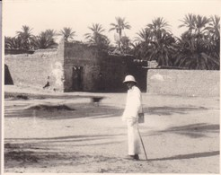 TOZEUR TUNISIE  1923   Photo Amateur Format Environ 5,5 X 7,5 Tirage Années '30 - Orte